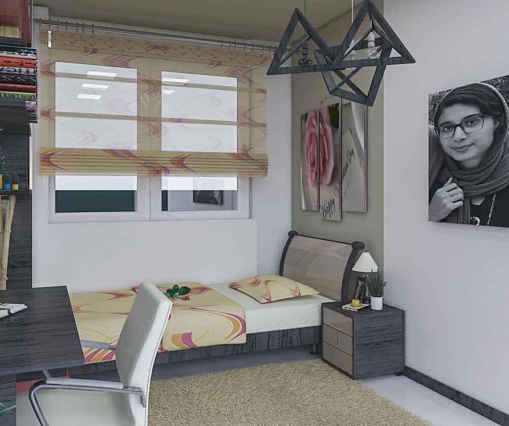 طراحی اتاق خواب نوجوان