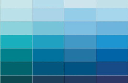 رنگ آبی در دکوراسیون داخلی