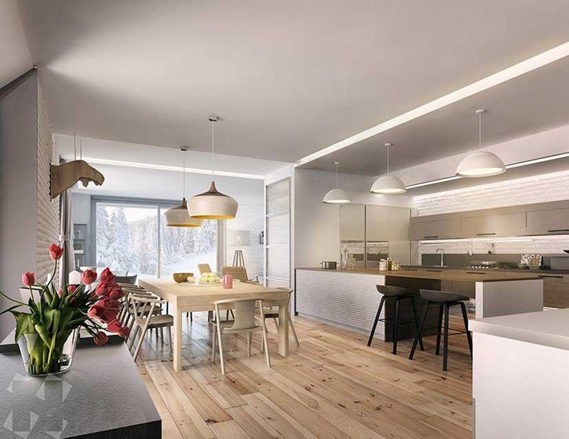 طراحی دکوراسیون آشپزخانه به چهار سبک